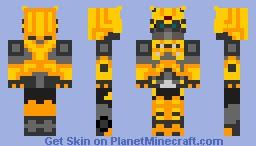 Bumblebee Minecraft Skin