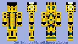 Bumble Bee (Transformers) Minecraft Skin