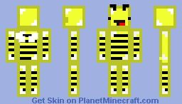 BumbleBee Skeppy!!! Minecraft Skin