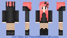°ѕυgαя° Black bunneh. Minecraft Skin