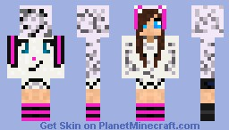 Bunny Girl Minecraft Skin