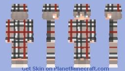 Burberry Minecraft Skin