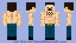 Burt Reynolds Minecraft Skin