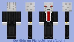 Business Ghast Minecraft Skin