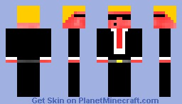 businessman Minecraft Skin