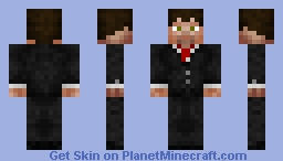 Business Man Minecraft Skin