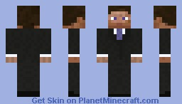 Business Suit Minecraft Skin
