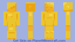 Hot and Buttery Minecraft Skin