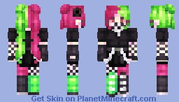 butterfly acid Minecraft Skin