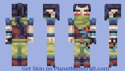Byrne - Battle Of Our Boss Skins Minecraft Skin
