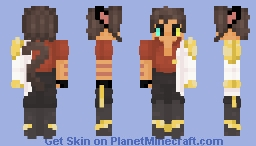 Future Catra s5 She Ra Minecraft Skin