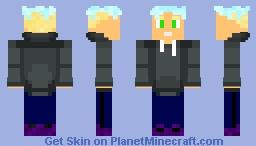 """Kanye """"Hentai"""" East (OC) Minecraft Skin"""