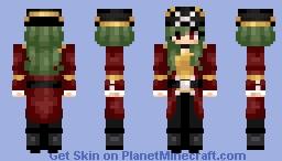it's a female Kaptain K. Rool! Minecraft Skin