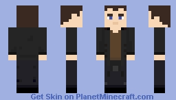 The Ninth Doctor - The Clockwise Man [Storybook] Minecraft Skin