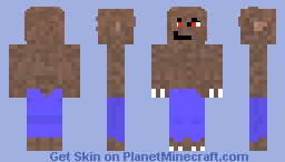 werewolf Greenman Minecraft Skin
