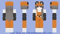 Fox Try-hard eGirl Minecraft Skin