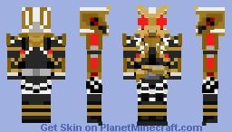 Kamen Rider Kikai 01 Minecraft Skin