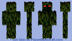 Dc's Swamp Thing (Custom) Minecraft Skin