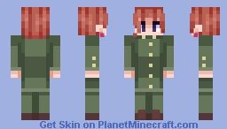 Kakyoin Noriaki Minecraft Skin