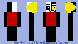 Dimentio Minecraft Skin
