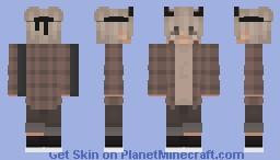 aesthetic demon boy (alex) Minecraft Skin
