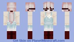 【 softie ghost 】 Minecraft Skin
