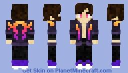 S-Y-N-T-H-W-A-V-E Minecraft Skin