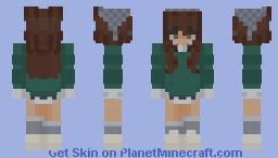 cottage core girl Minecraft Skin