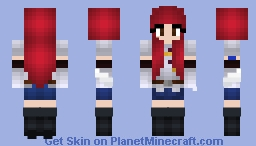 Titania Erza Scarlet Minecraft Skin