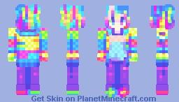 || WONDER POP || Minecraft Skin