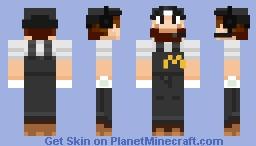 McDonald's Luigi Minecraft Skin