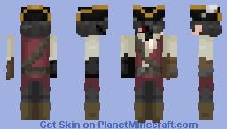 Cursed Pirate Minecraft Skin
