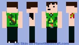 Martin Bv (Weird Singlet) Minecraft Skin