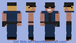 Clark KOF 99 Minecraft Skin
