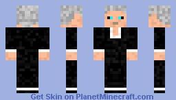 The Illusive Man Minecraft Skin