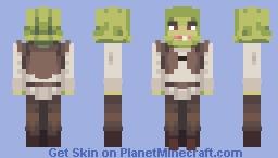 𝒞𝓇𝑒𝓈𝓉𝓌𝒶𝓉𝑒𝓇𝓈 - Shrek. Minecraft Skin