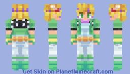 Caesar Zeppeli - JoJo's Bizarre Adventure Minecraft Skin