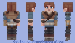 Star Wars - Cal Kestis (Reshade) Minecraft Skin