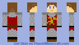 Knight of camelot Minecraft Skin