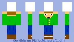 Camera Man (2.0) also look in 3D Minecraft Skin