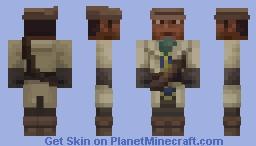 Fallout 4: Preston Garvey Minecraft Skin