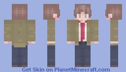 Ethan Winters Minecraft Skin