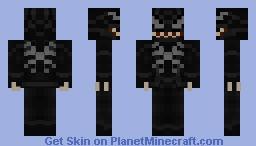 Venom Spider Man 3 (2007) Minecraft Skin