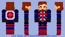 Captain Carter Minecraft Skin