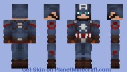 Captain America - Endgame Minecraft Skin
