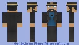 Captain Haddock (The Adventures of Tintin) Minecraft Skin