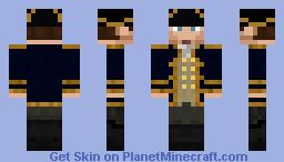 Captain (Navy Blue) Minecraft Skin