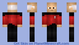 Captain Jean-Luc Picard (Star Trek) Minecraft Skin