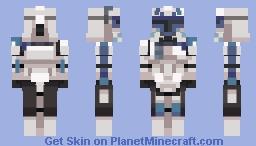 Captain Rex Minecraft Skin