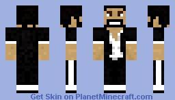 Captain Sparklez Singer (Usher) v2 Minecraft Skin